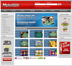 MyJackpot Casino English